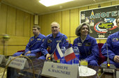 Andromède mission crew