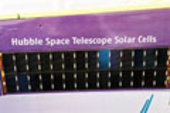 Solar panels from the Hubble Space Telescope