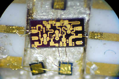 TTI chip-based microwave component