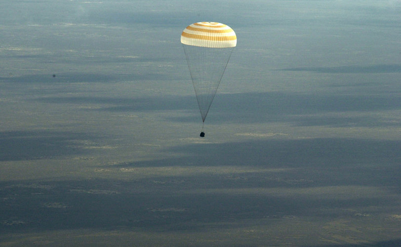 Andromède mission descends to Earth