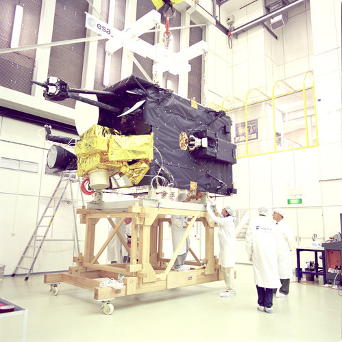 Artemis under testing in ESTEC