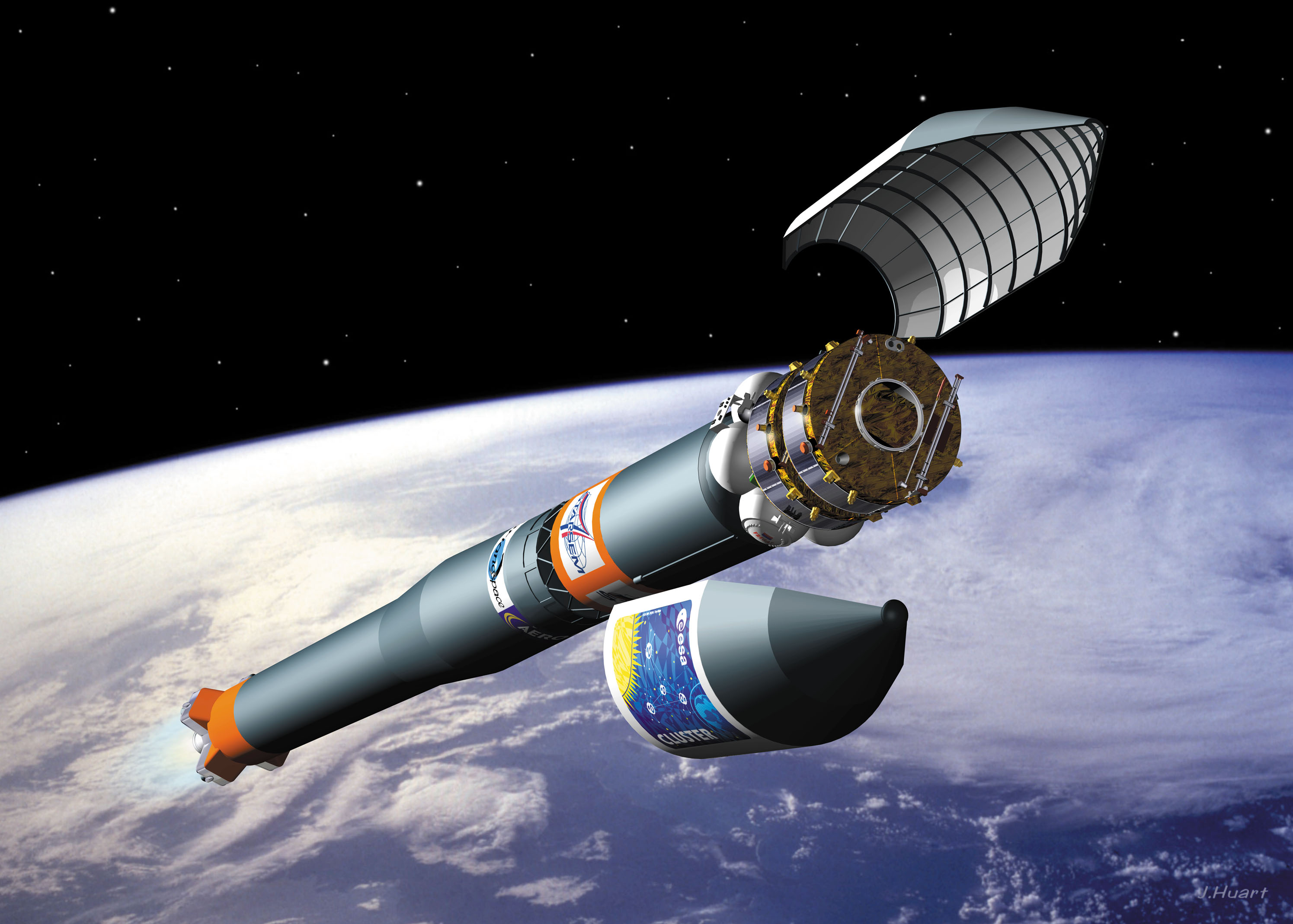 Space in Images - 2001 - 11 - Artist's impression of ...