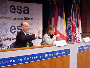 ESA council ministerial meeting - press conference