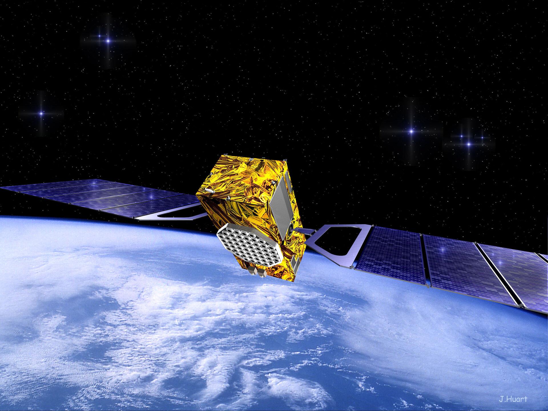 Concept Satellite Galileo Credit: ESA