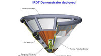 Inflatable Re-entry and Descent Technology (IRDT) demonstrator