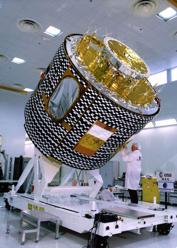 The MSG-1 satellite
