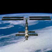 International Space Station December 2001