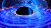 Black hole in a strong magnetic field