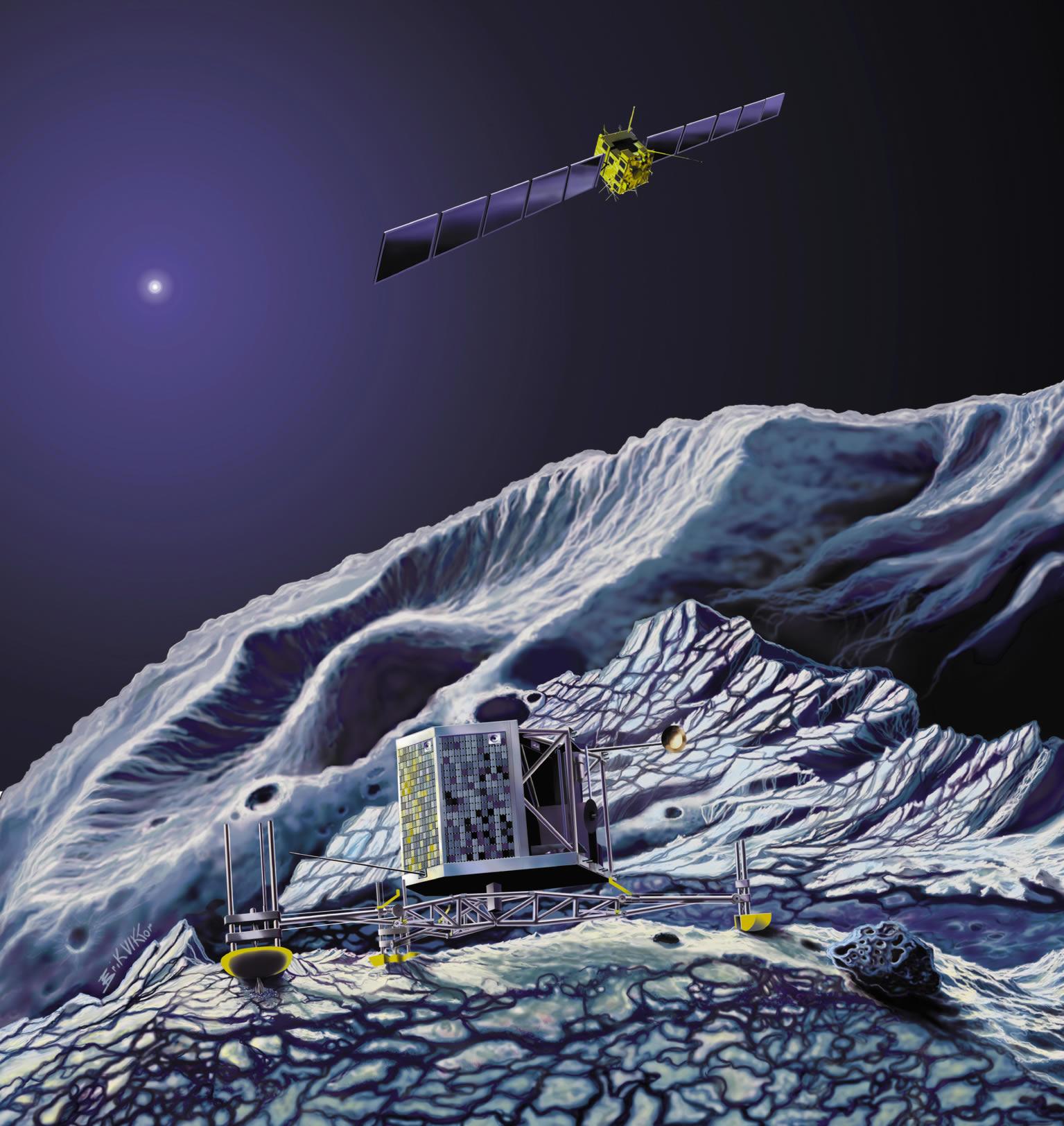 nasa comet lander name - photo #36