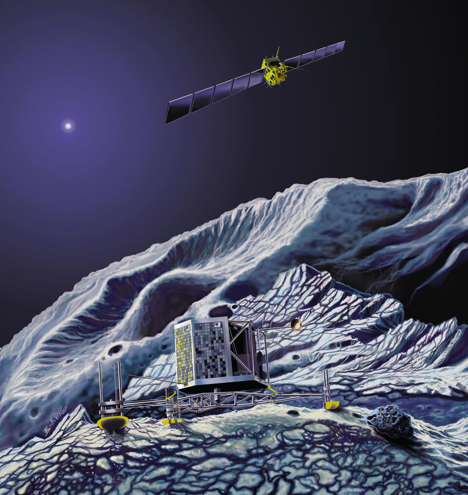 The team will identify several new comets as targets for Rosetta