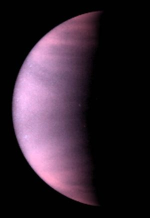 Venus in ultraviolet light