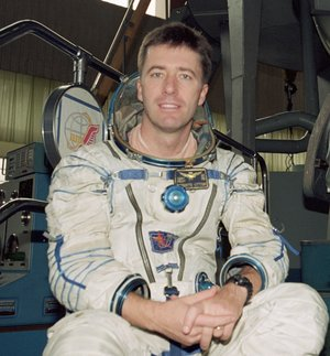 Vittori during astronaut training at Star City near Moscow