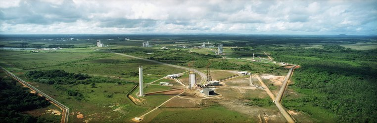 Aerial view of Ariane 5 Launch Zone (ZL3)