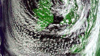 Clouds over Europe seen by MODIS