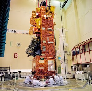 ENVISAT satellite integration