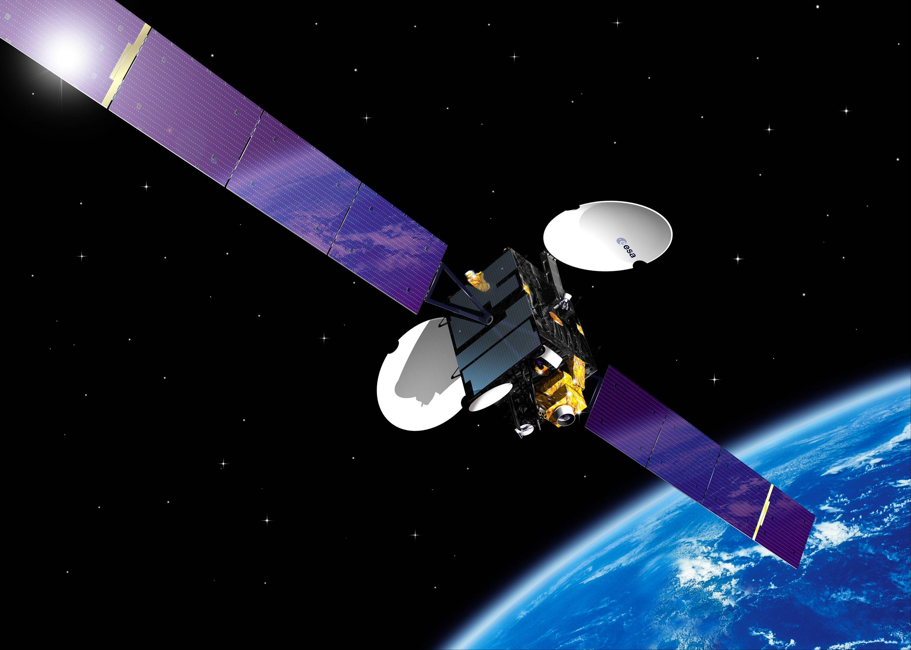 esa satellite structure - photo #37