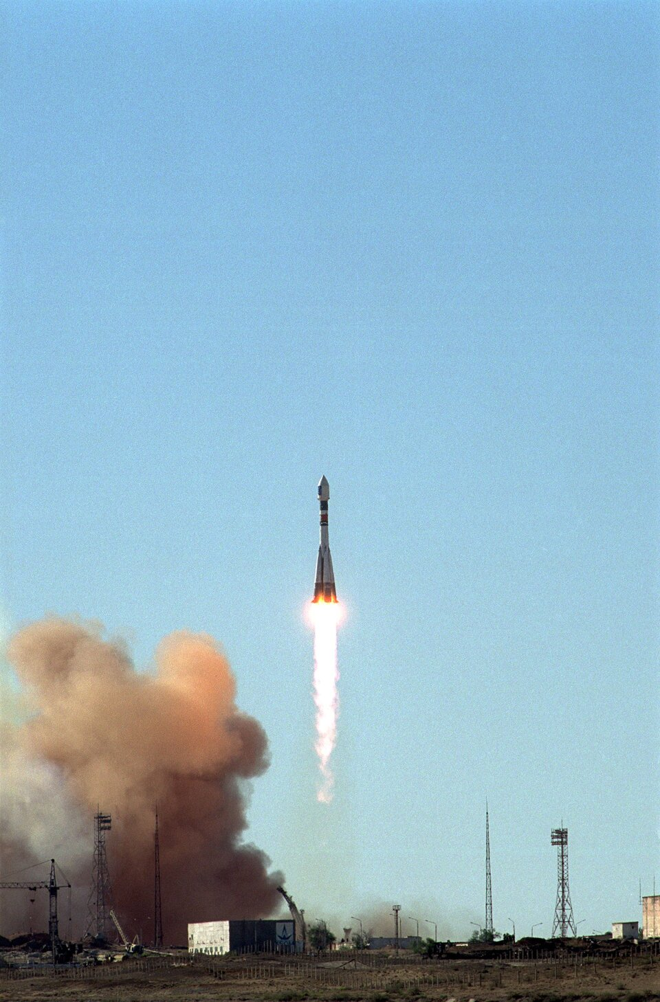 First Cluster duo launch 16 April 2000