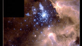 Hubble Snapshot Captures Life Cycle of Stars : Galaxies NGC 3603