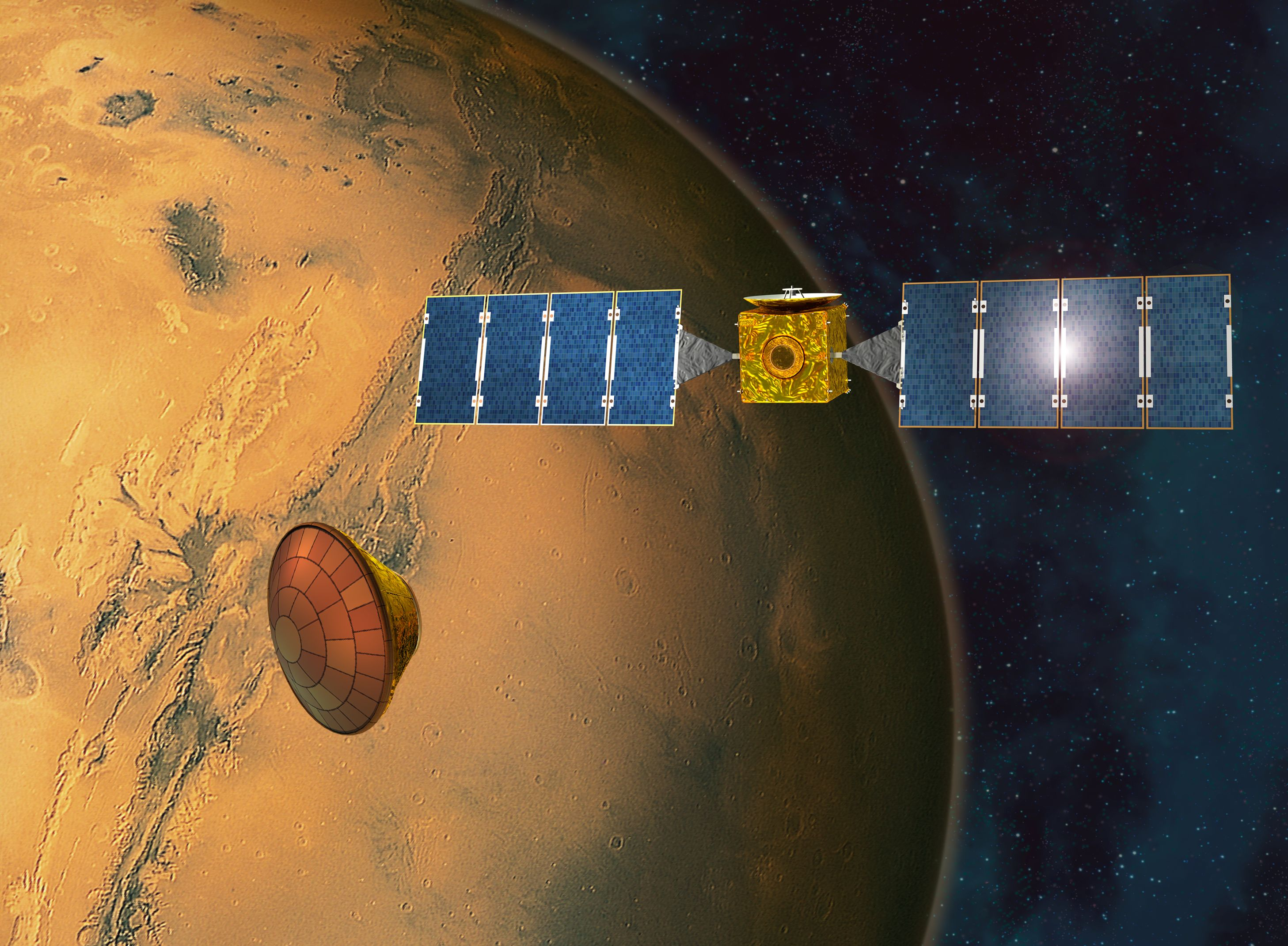 esa science amp technology mars express - HD 2915×2141