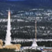 Maxus sounding rocket launch