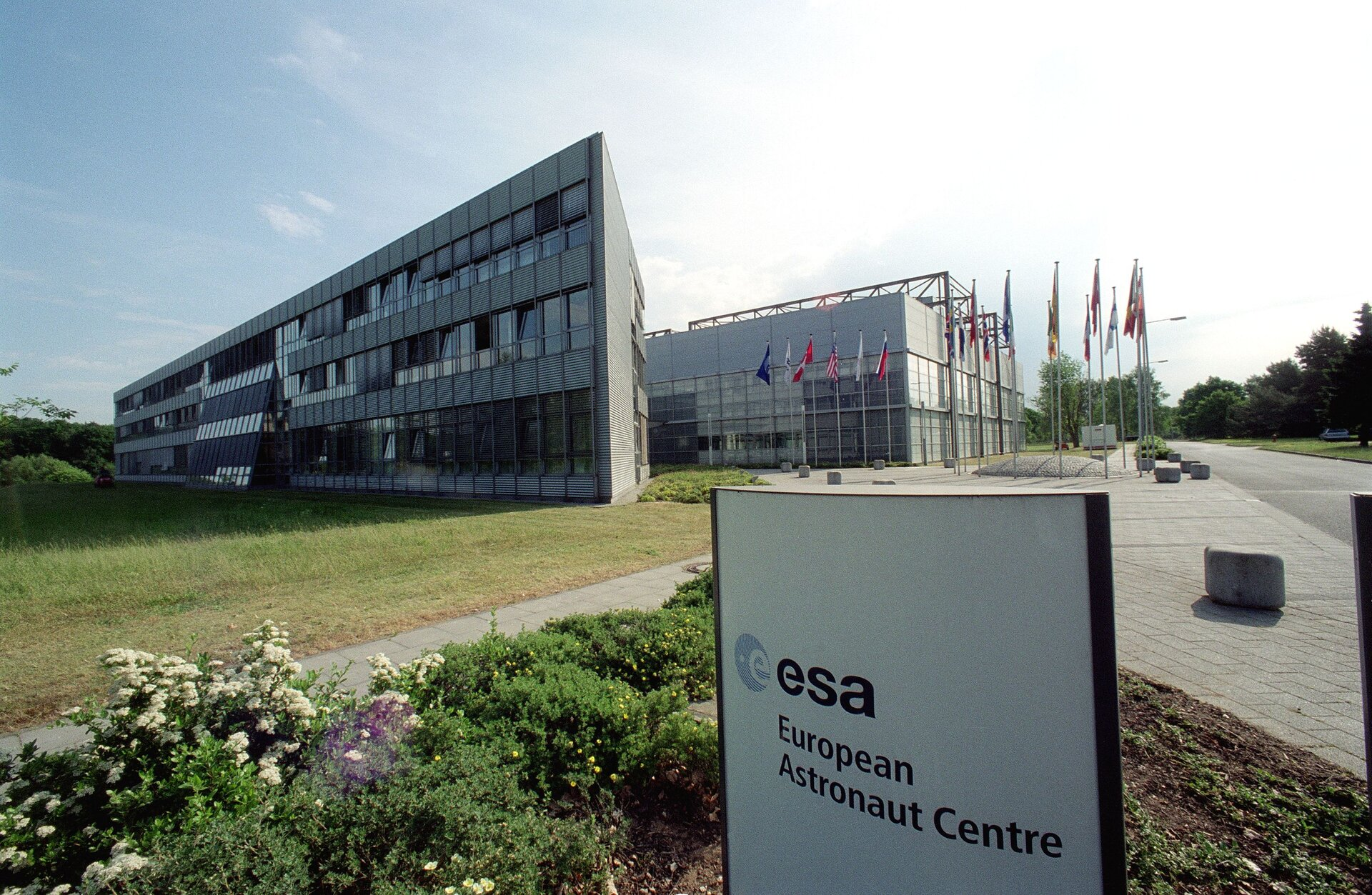 The European Astronaut Centre in Cologne, Germany