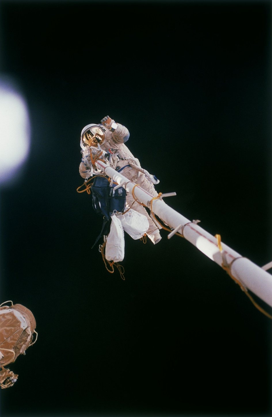 The first spacewalk for an ESA astronaut took place during Euromir 95