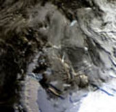Antarctic Peninsula - MERIS, 24 March 2002