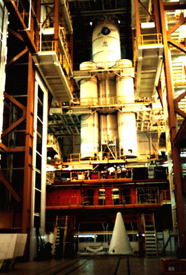 Ariane 5 assembly building