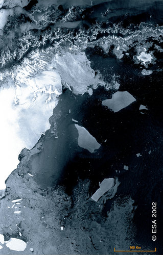 ASAR looks at the Antarctic Peninsula