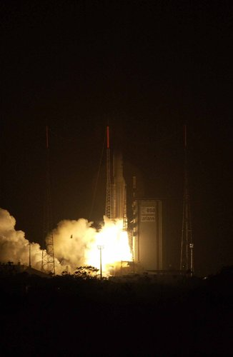 Envisat soars into orbit