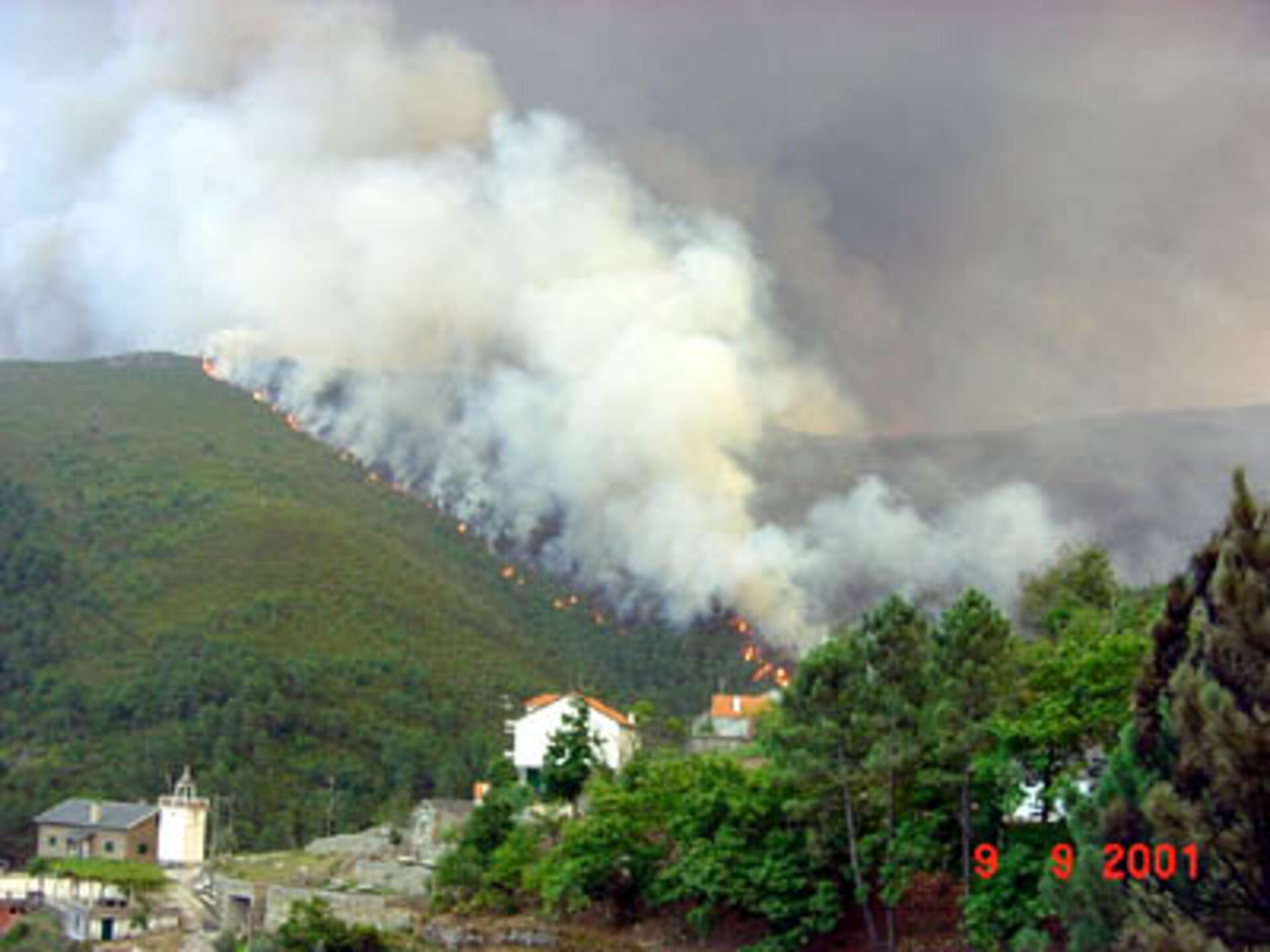 ESA's PREMFIRE project to fight forest fires