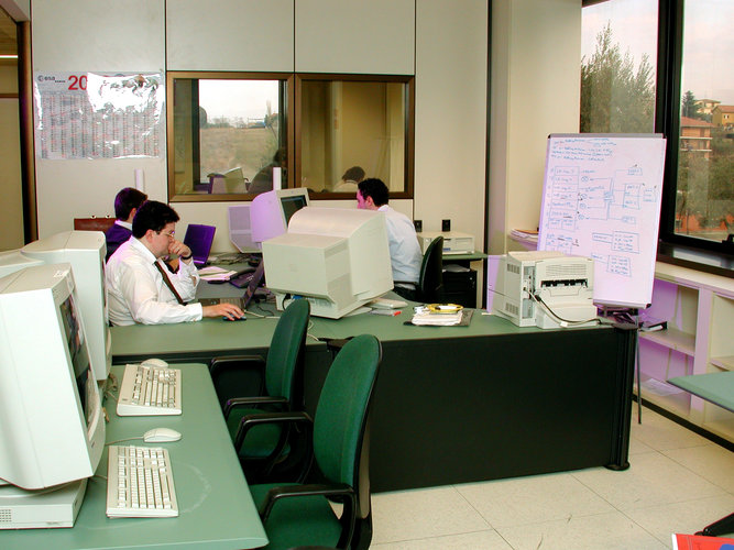 ESRIN Data Processing Room