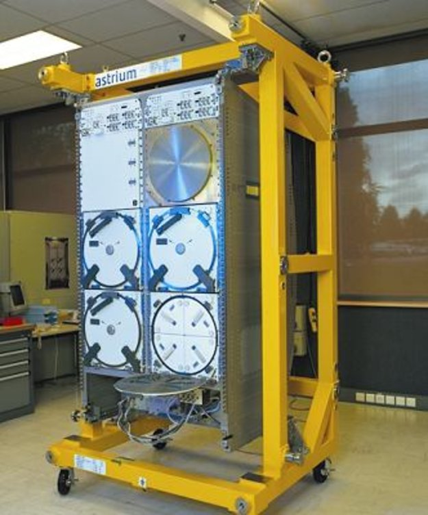 Space freezer ready for shipment to florida human spaceflight our activities esa - Tall refrigerators small spaces property ...