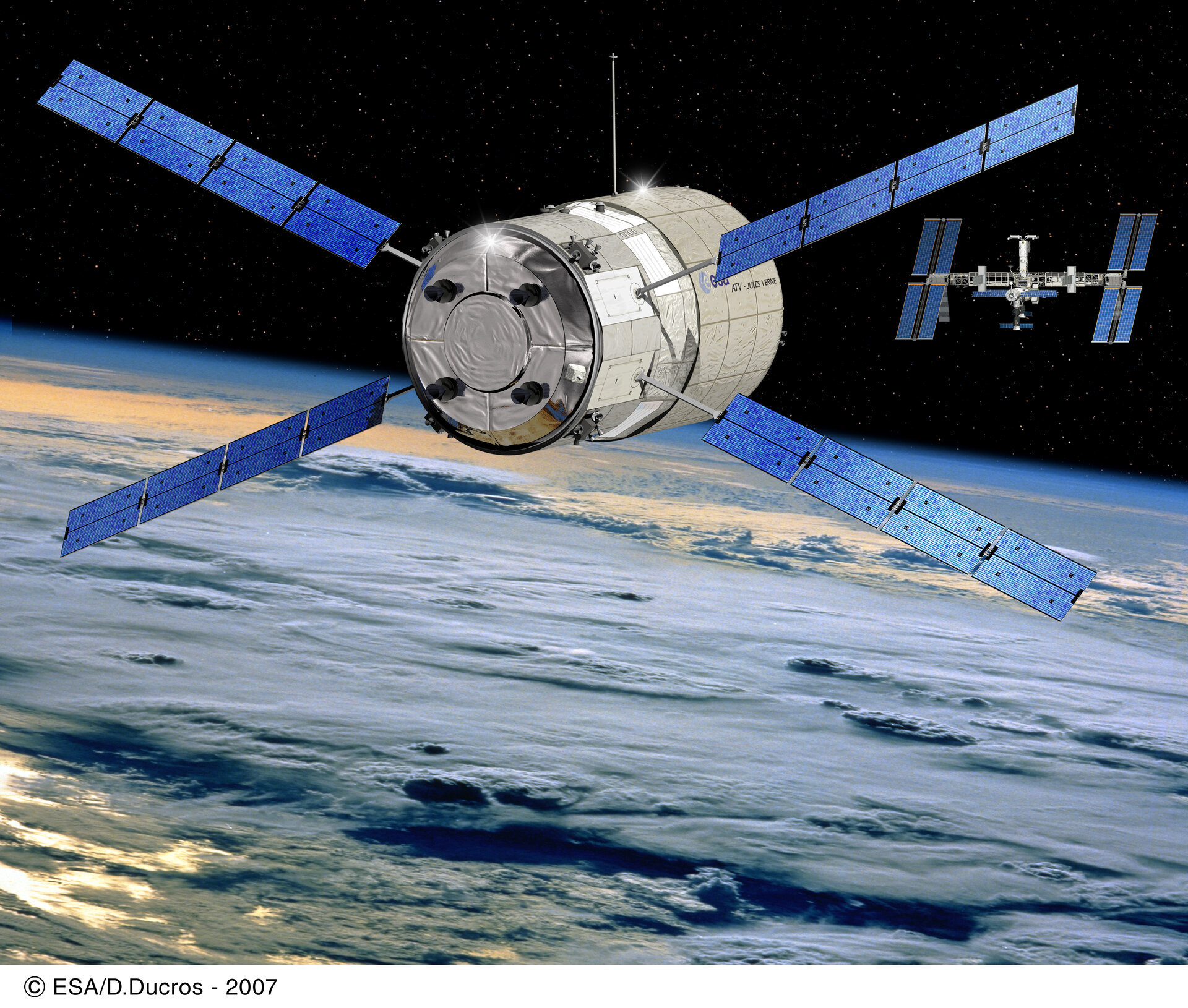 From 2005 the European Automated Transfer Vehicle will also be used to ship cargo to ISS