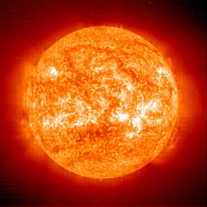 The Sun's hot atmosphere today