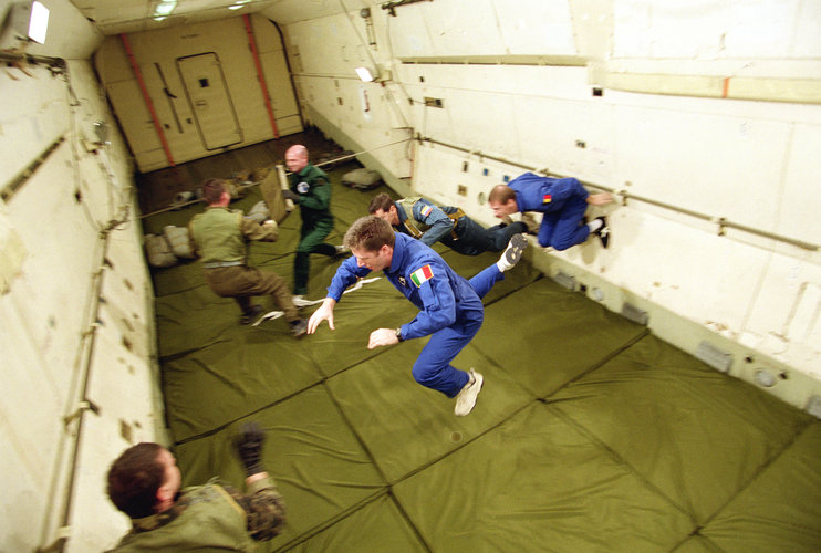 Vittori zero gravity flight
