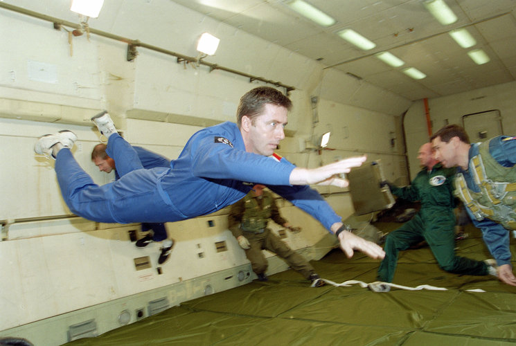 Vittori zero gravity flight training