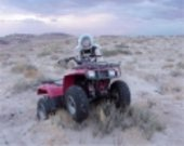 Andrea ATV got stuck in the Martian sand