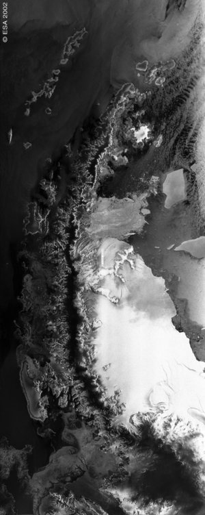 Antarctic Peninsula - ASAR - 18 March 2002