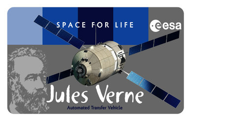 Jules Verne: the first flight of the European re-supply spaceship ATV