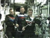 Marco Polo crew on board the ISS