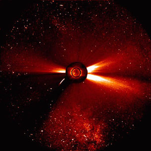 ESA's solar satellite, SOHO, has become a prolific comet spotter