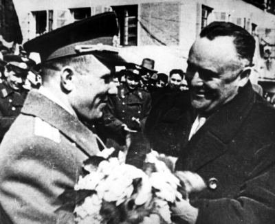 Korolev and Gagarin