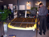 Nuna Solar Car - 2001 winner of World Solar Race in Australia