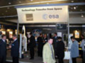 ESA / MST stand at Hannover Fair 2002