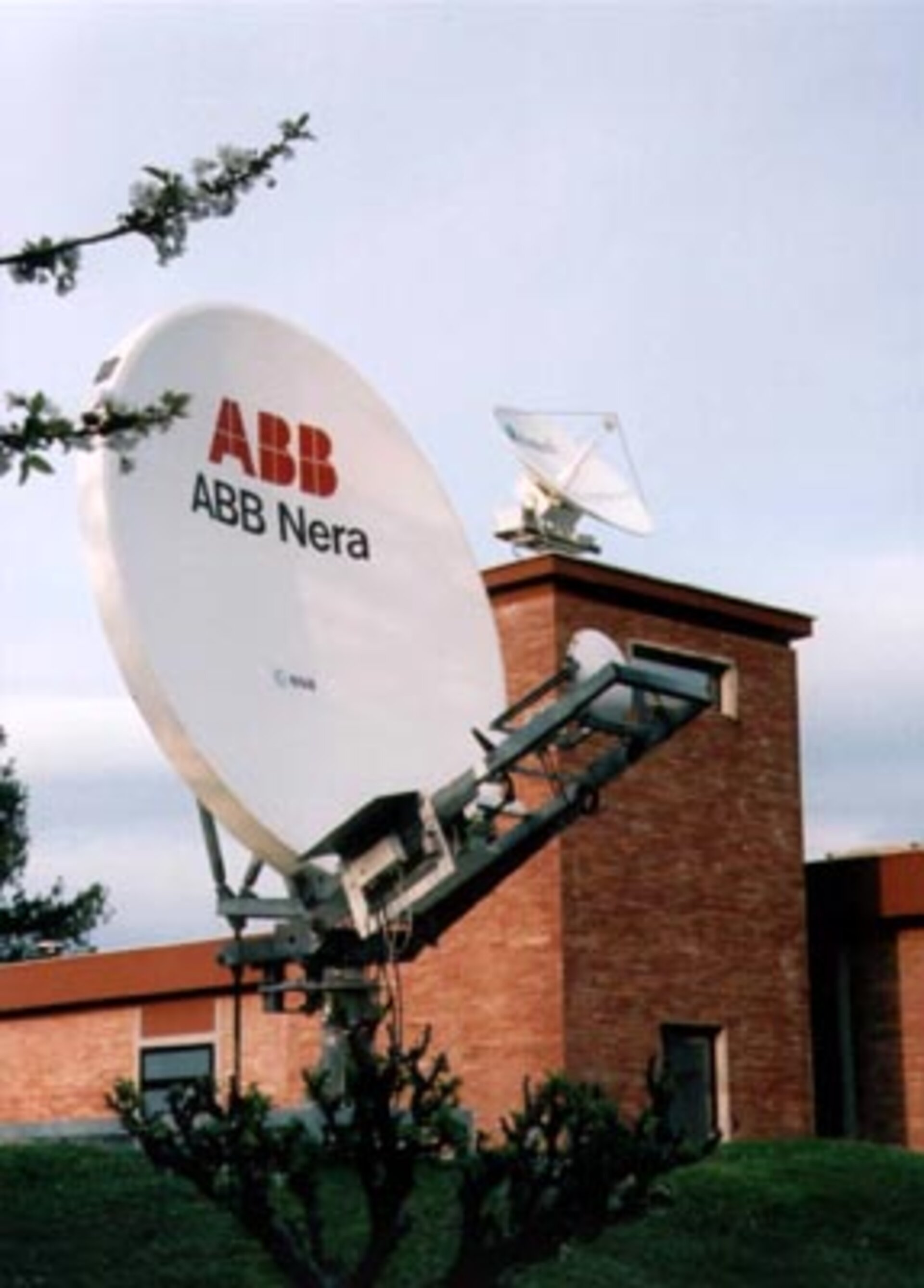 Two of the NMSC antennae at ESRIN