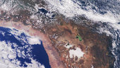 Bolivia and Chile - MERIS - 23 April 2002