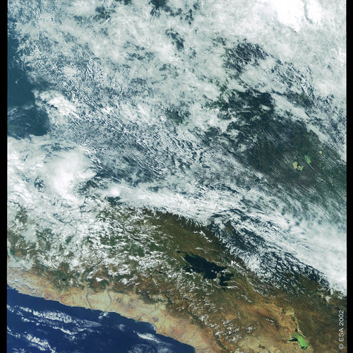 Peru and Bolivia - MERIS - 26 April 2002