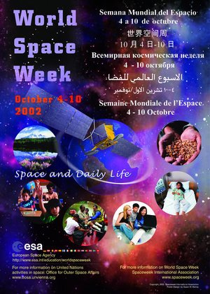 World Space Week 2002