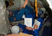 Training with Soyuz TMA software